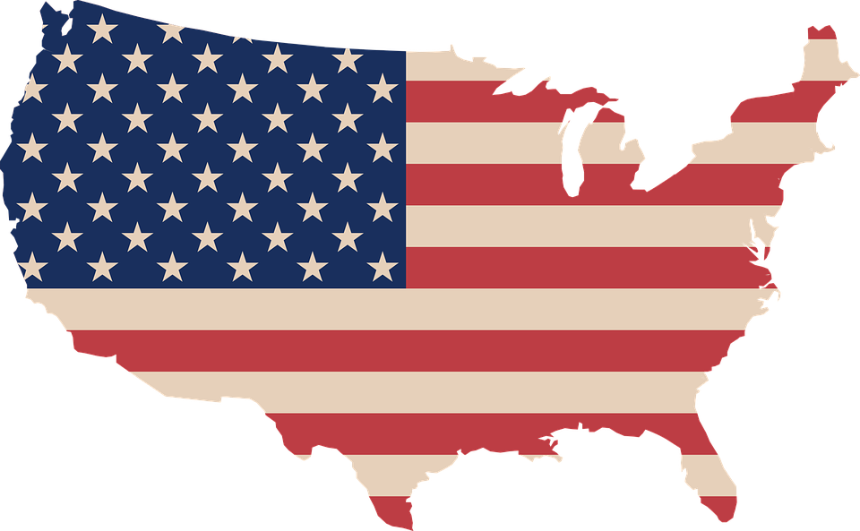 USA kontinent
