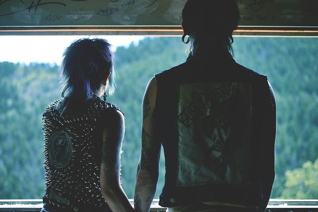 rockové oblečení
