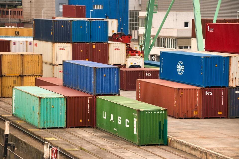 kontejnerová přerpava