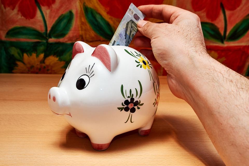 prasátko a bankovka