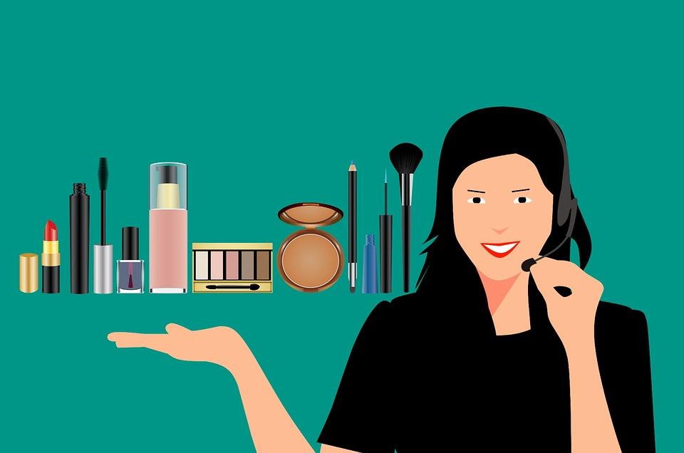 prodejce kosmetiky